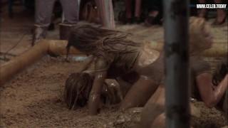 Vicki Frederick – Naked Wrestling, Big Boobs, Lesbian – All The Marbles