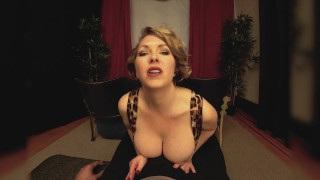 Big Tits Milf Girlfriend Gives You A Handjob In The Theater