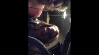 Periscope sluts showing off in car