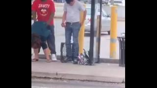 Drunk Fucked in a public BUS stop (FULL PORN VIDEOS: DESTYY . COM / WLJJGE)