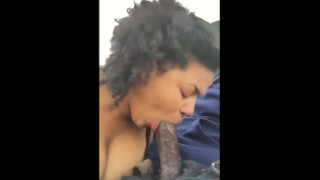 I Would've Nutted So Hard – Public Blowjob