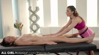 AllGirlMassage Valentina Nappi's Client Feels Better After Cumming