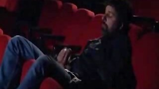 group sex in a cinema