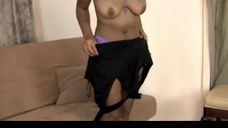 Hairy black woman