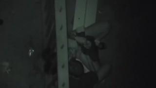 Horny voyeurism night watch