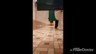 Public Bathroom Voyeur