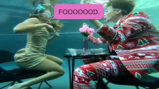 Sommer Ray nip slip in Rice Gum new video