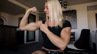 Muscle girl Jennifer Keller
