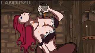 League of Legends Hot Miss Fortune Animation (Loop) with sound