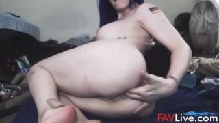 Nasty whore Izabella gets extreme anal fisting