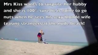 Nude Beach Teasing Wives!