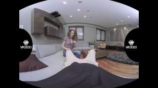 Horny Couple Fucks Babysitter In VR