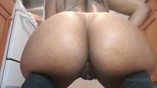 Ayla – Anal Dildo Ride and Butt Plug Tease