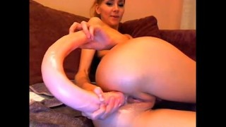 MsLily double ended dildo