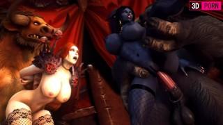 3D PORN Whore Draenei X'sara World of Warcraft Slut