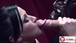 Lolly Badcock His girth is a challenge even for Lolly HD Porn