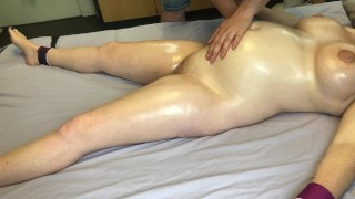 Bound Pregnant Girl Massaged and Played With – MASSAGE2018