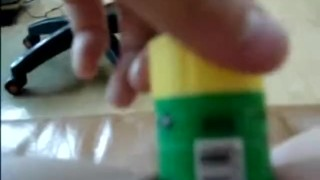 Shaved korean teen fucks with a glue stick (딱풀녀)