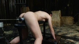 Country Princess gets Machine Fucked for 7 Minutes