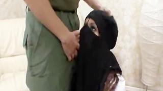 Muslim Wife shocked American Yankee Penis dwarfs Small Oriental Arab Dick