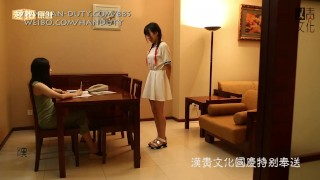 Two Chinese Girls Whipped with Ruler Spanked Soundly