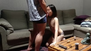 Chinese kitty asks for her master's dick (first porn video)