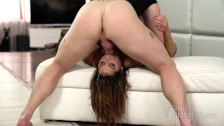 hard rough and dirty rimming with hot busty brunette heidi van horny