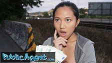 Public Agent agent gives it to Asian babe May Thai doggy style