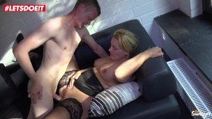 LETSDOEIT – Hard Fucking With Mature German Amateur Couple
